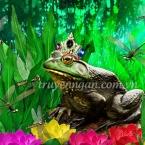 Lũ ếch muốn có vua