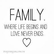 Gia đình - nơi ta trở về sum họp