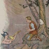 Người tiều phu và thần Hermes