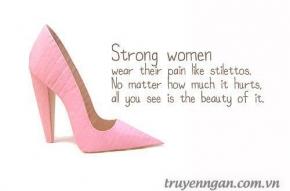 Phụ nữ thật kiên cường!