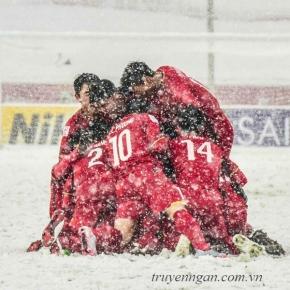 Tình yêu mang tên U23 Việt Nam