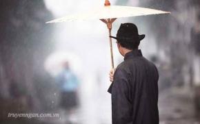 Chuyện chiếc ô của vị phú thương và bài học về sự bình tĩnh