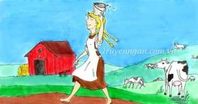 Cô gái vắt sữa