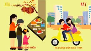 Tản mạn Tết Việt xưa và nay