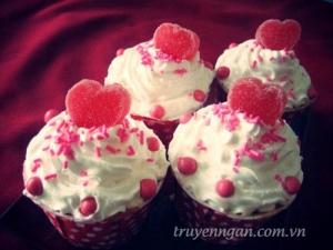 Cupcake yêu thương