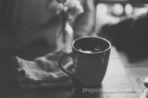 Tình đơn phương như tách cà phê đen