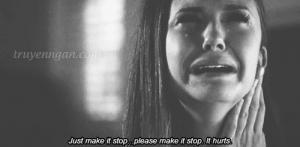 Cứ khóc nếu bạn muốn