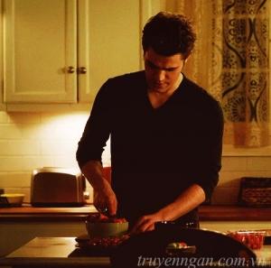 Góc bếp nhỏ của người đàn ông