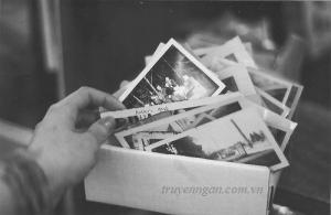 Tấm ảnh trong cuốn sách cũ